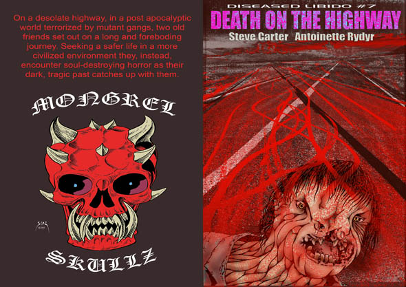 book cover - Diseased Libido #7 - Death on the Highway