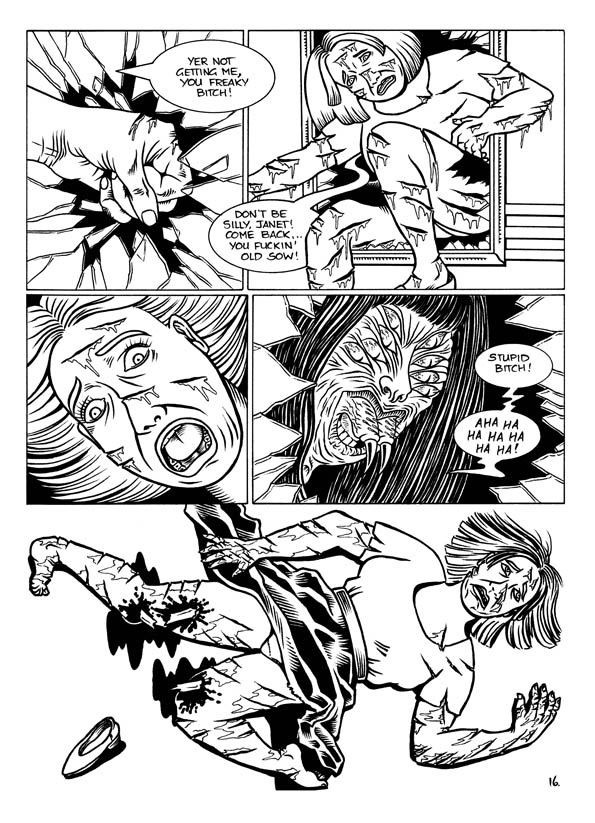 Kill of the Spyderwoman and Other Skin-Crawlin' Stories - page 18