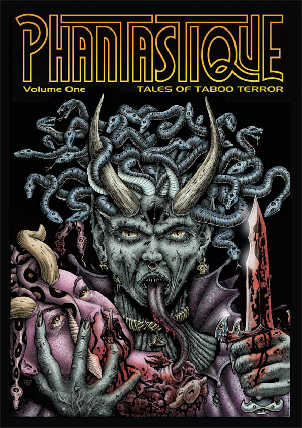 Phantastique - Tales of Taboo Terror - Volume 1 graphic novel book cover