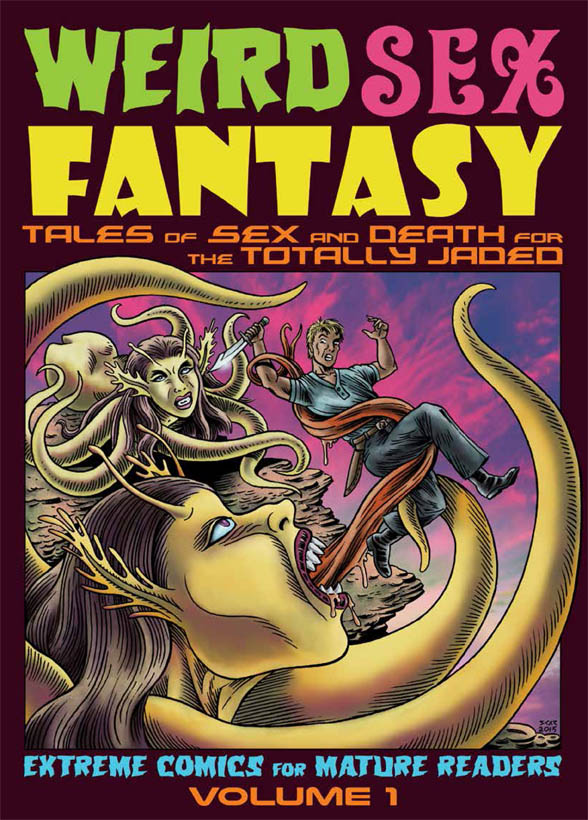 Weird Sex Fantasy Volume 1 graphic novel book cover