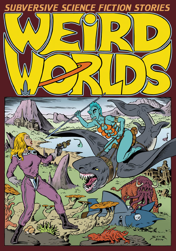 Weird Worlds Volume 1 graphic novel book cover