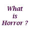 What is Horror article
